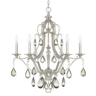 Capital Lighting Blakely Collection 6-light Antique Silver Chandelier