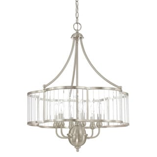 Capital Lighting Hamilton Collection 6-light Brushed Nickel Chandelier