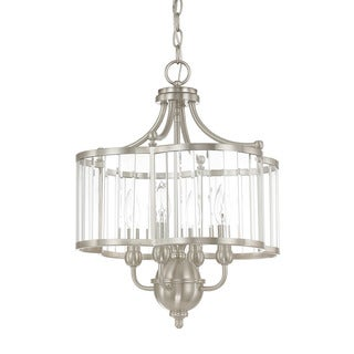 Capital Lighting Hamilton Collection 4-light Brushed Nickel Pendant