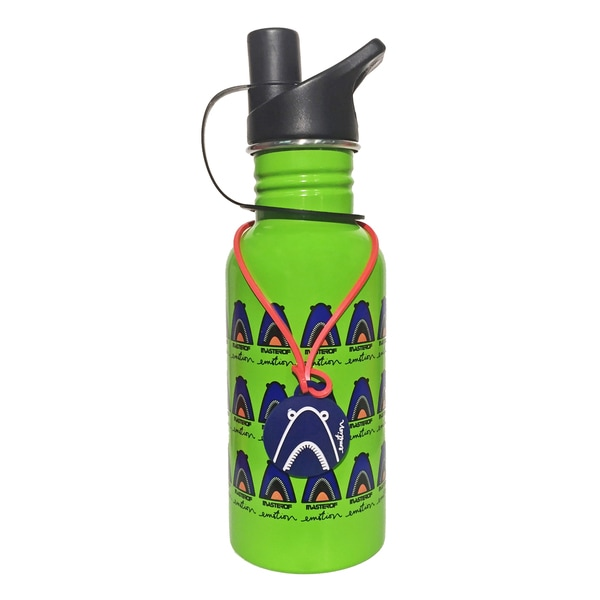 Shark 13.5-ounce Stainless Steel Water Bottle