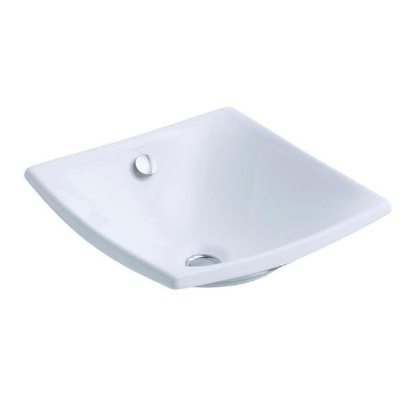 Kohler Vessel Sinks : Kohler Escale Vessel Sink in White - 17628853 - Overstock.com Shopping ...