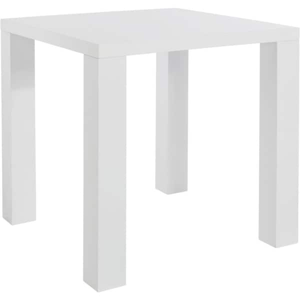 Sky Dining White High Gloss Square Table