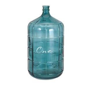 Ella Elaine Blue Large Glass Jug