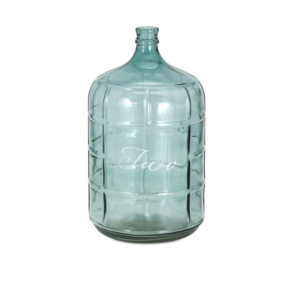 Ella Elaine Blue Small Glass Jug