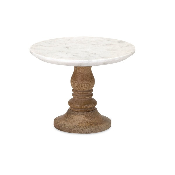 Petra Marble Cake Stand