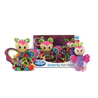 Playgro Butterfly Teether Toys (4 Pack)