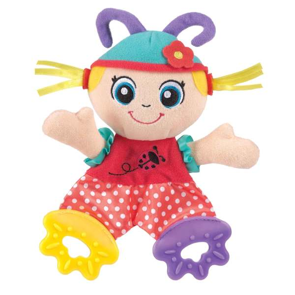 Playgro Teething Blankie Lulu Ladybird