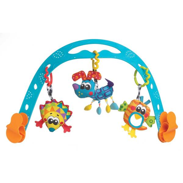 Jig Along Travel Play Arch - Neutral