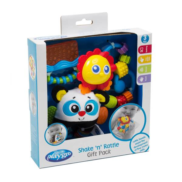 Shake and Rattle Gift Set - Blue