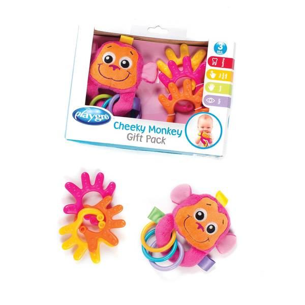 Cheeky Monkey Giftset - Pink