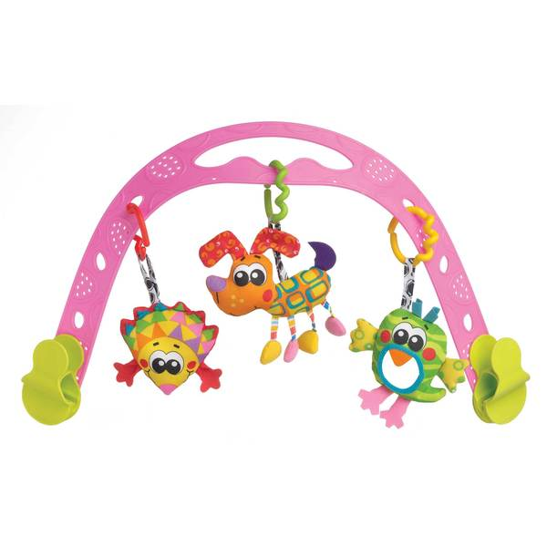 Jig Along Travel Play Arch - Girl
