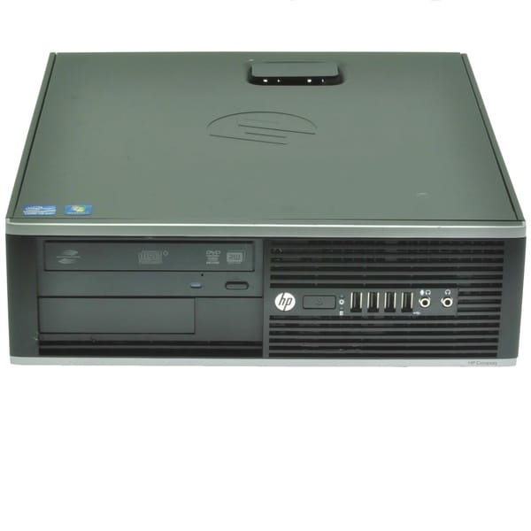 HP Compaq 8200 Elite SFF 3.10Ghz Intel Core i5 4GB RAM 500GB HDD Windows 7 Desktop Computer (Refurbished)