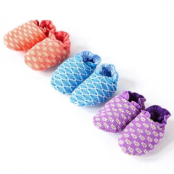 Handmade Florecita Baby Booties (Guatemala)