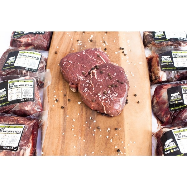 Arizona Grass Raised Beef Co - Top Sirloin Steaks