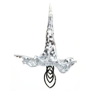 Trumpet Angel ament Clear Ornament
