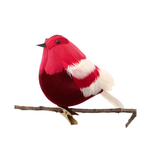 Cardinal 5.5-inch Red Ornament