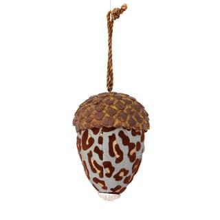 Sage & Co. 4-inch Textured Leopard Acorn