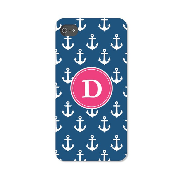 Anchors Away Personalized I Phone 4 Case -  Custom Personalization Solutions, LLC, 50531