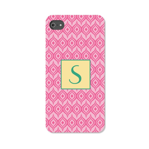 Pink Ikat Personalized I Phone 5 Case