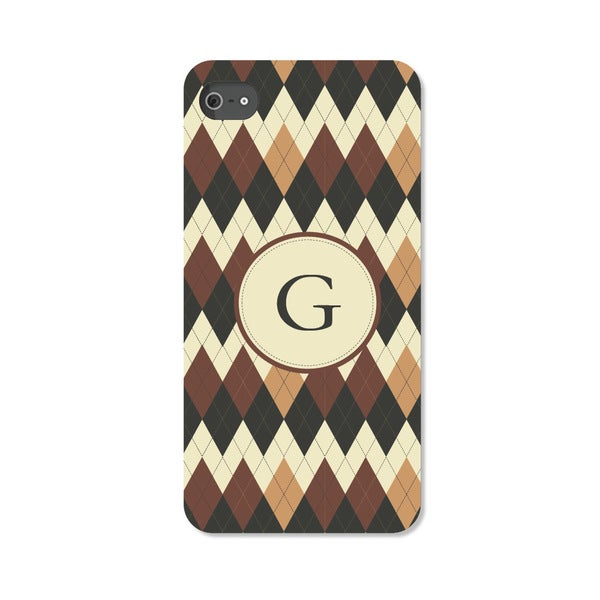 Argyle Personalized I Phone 5 Case -  Custom Personalization Solutions, LLC, 50543