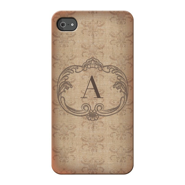 Vintage Initial Personalized I Phone 4S Case -  Custom Personalization Solutions, LLC, 56732