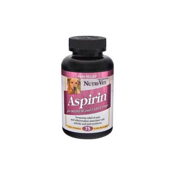 Aspirin For Large Dogs 300mg 75ct