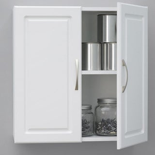 Altra SystemBuild White Kendall 24 inch Wall Storage Cabinet