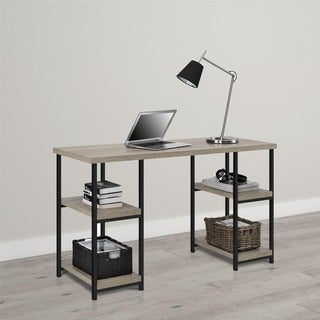 Altra Elmwood Double Pedestal Desk