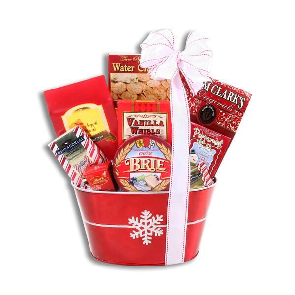 Snowflake Delight Gift Basket