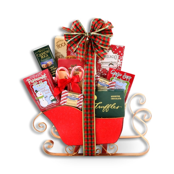 Holiday Sleigh Ride Gift Basket