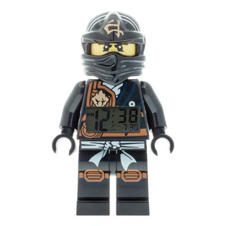 LEGO Ninjago 'Jungle Ninja Cole' Kid's Moveable Minifigure Alarm Clock