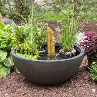 Patio Water Garden Planter