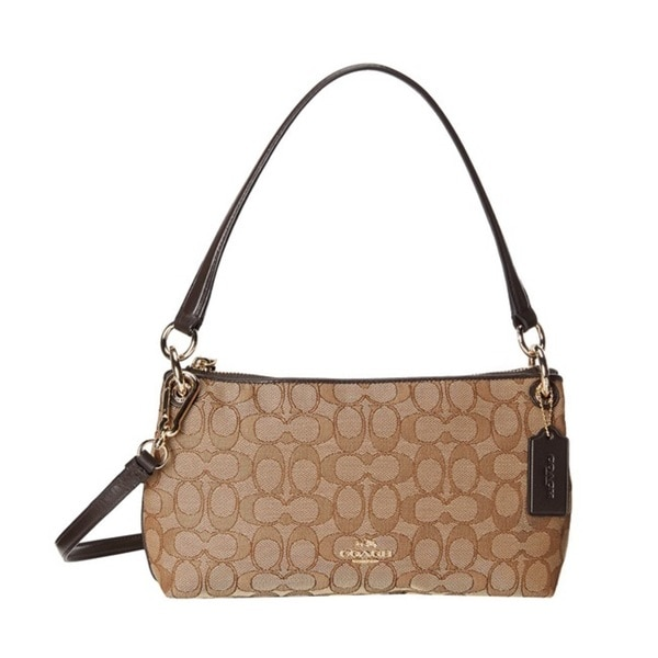 Coach Signature Charley Crossbody