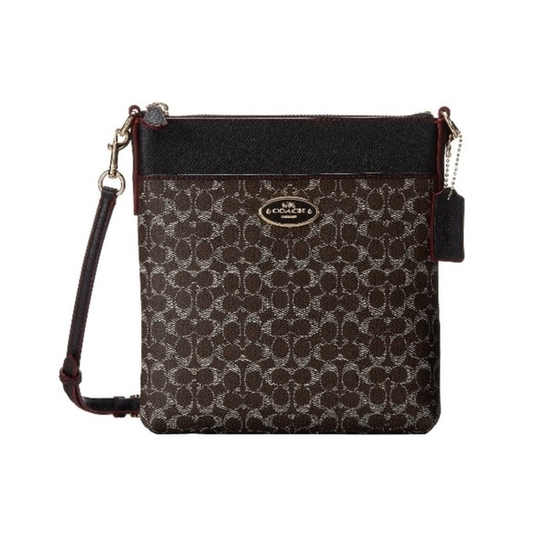 Coach Courier Signature Crossbody