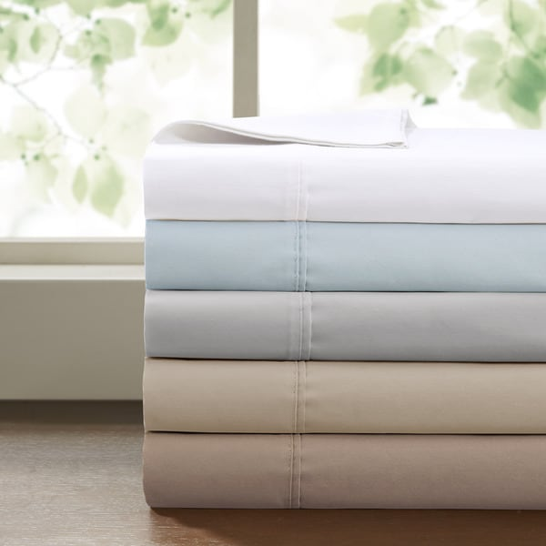 Sleep Philosophy AdjustaFit 300 Thread Count Cotton Sheet Set