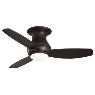Emerson Curva Sky 44-inch Oil Rubbed Bronze Modern Indoor/Outdoor Ceiling Fan