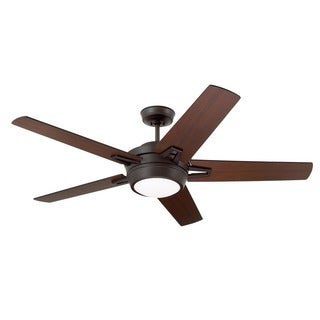 Emerson Southtowne 54-inch Oil Rubbed Bronze Modern Ceiling Fan with Reversible Blades
