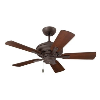 Emerson Monterey II 42-inch Oil Rubbed Bronze Traditional Transitional Ceiling Fan with Reversible Blades