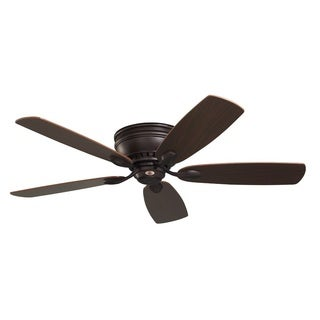 Emerson Prima Snugger 52-inch Oil Rubbed Bronze Traditional Ceiling Fan with Reversible Blades