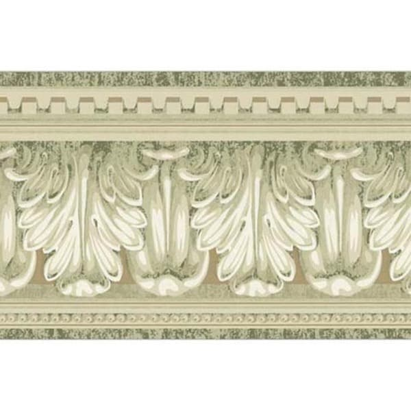Alabaster Column Wallpaper Border