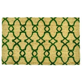 Kosas Home Camila 18x30 Coir Doormat