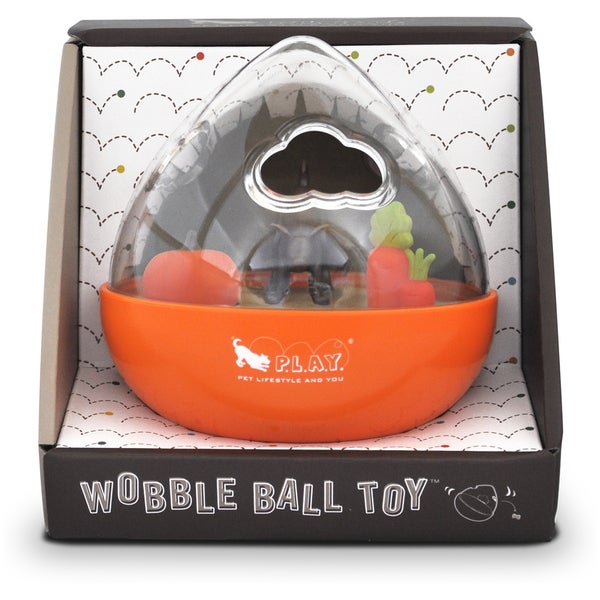P.L.A.Y. Wobble Ball ToyPumpkin