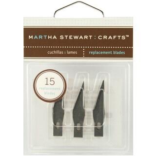 Martha Stewart Craft Knife Refill Blades 15/PkgFor M281019