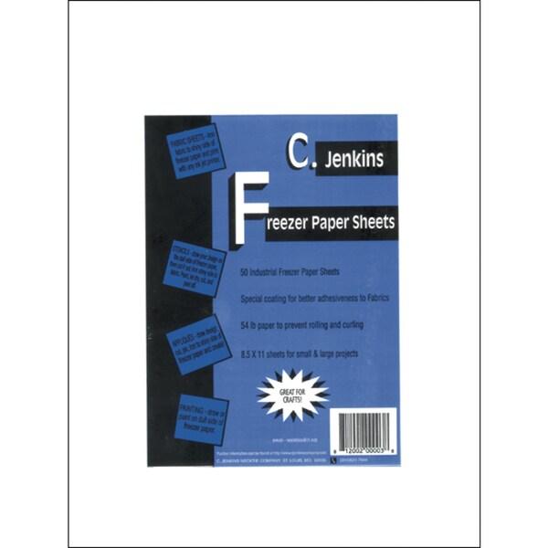 Freezer Paper Sheets8.5inX11in 50/Pkg