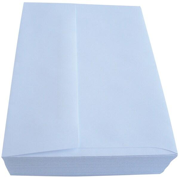 Leader A7 Envelopes (5.25inX7.25in) 50/Pkg PeggableWhite