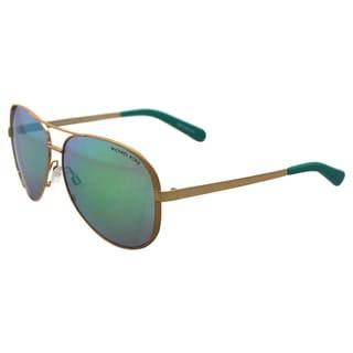 Michael Kors MK5004 Chelsea - Gold Green Mirror - 59-13-135 mm Sunglasses