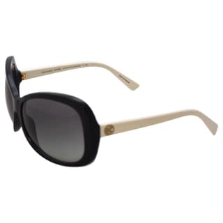 Michael Kors MK6018 Hanalei Bay - Black Off White - 60-15-130 mm Sunglasses
