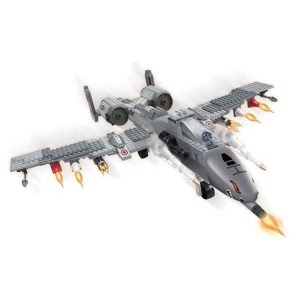 Brictek Air Force Fighter Plane