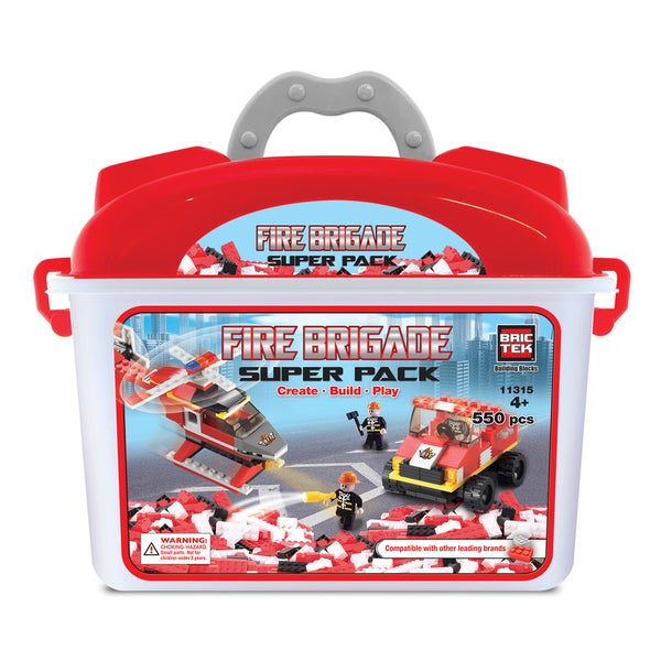 Brictek Fire Brigade Super Pack