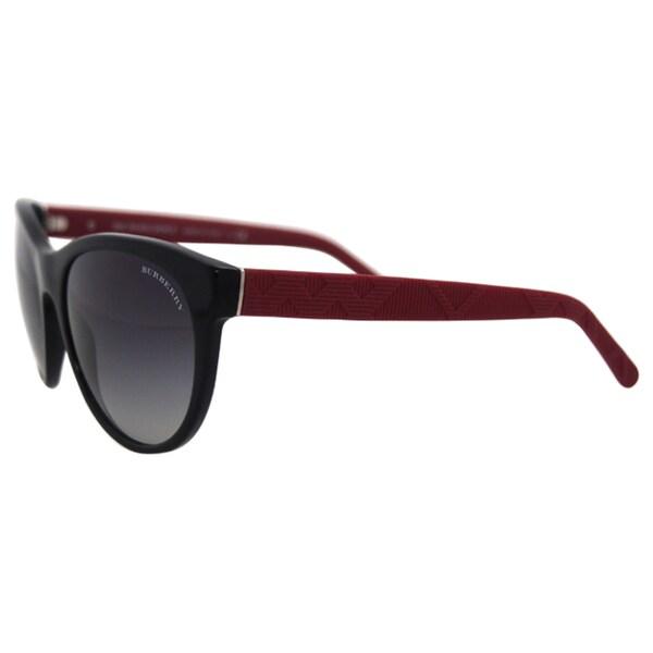 Burberry BE 4182 34988G - Black - 56-18-140 mm Sunglasses
